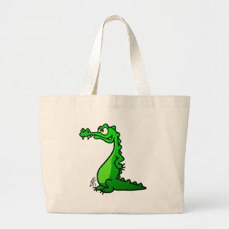 Crocodile Sac En Toile
