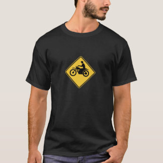 Croisement d'Enduro de motocross T-shirt