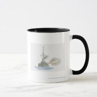 Croiseur cuirassé britannique mugs