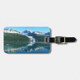 Croisière pittoresque du fjord I Alaska Étiquette À Bagage