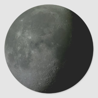 Croissant de lune ! sticker rond