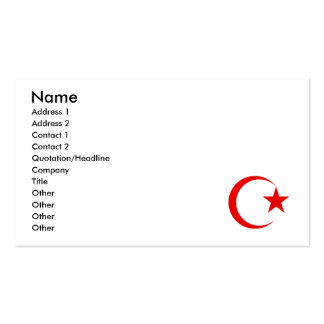 Croix Rouge Cartes de Visite, Croix Rouge Modèles Carte de Visite