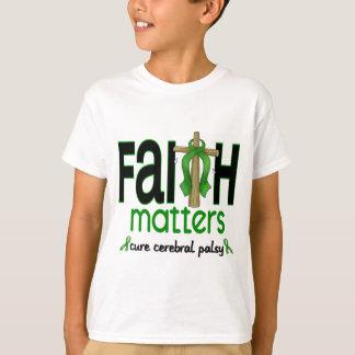 Croix 1 de sujets de foi d'infirmité motrice t-shirt