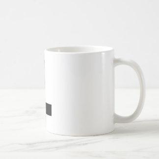 Croix à l'envers tasses à café