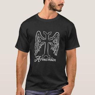 Croix arménienne avec des ailes t-shirt