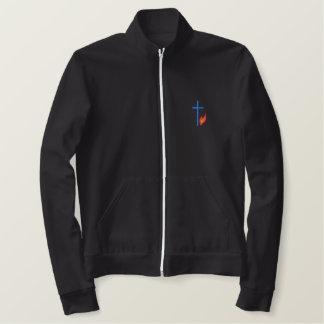 Croix avec la flamme vestes