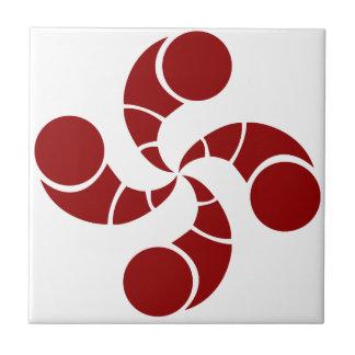 croix basque de golf carreau