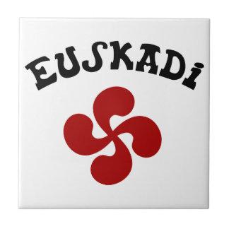 Croix Basque Euskadi Rouge Carreau