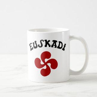 Croix Basque Euskadi Rouge Mug Blanc