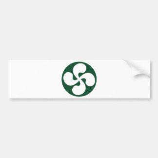 Croix Basque extrudé Autocollant De Voiture
