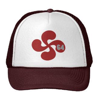 Croix basque rouge 64 Lauburu Casquettes