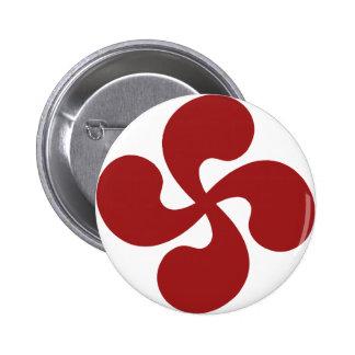 Croix Basque Rouge Lauburu Pin's