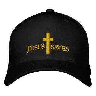 croix casquette brodée