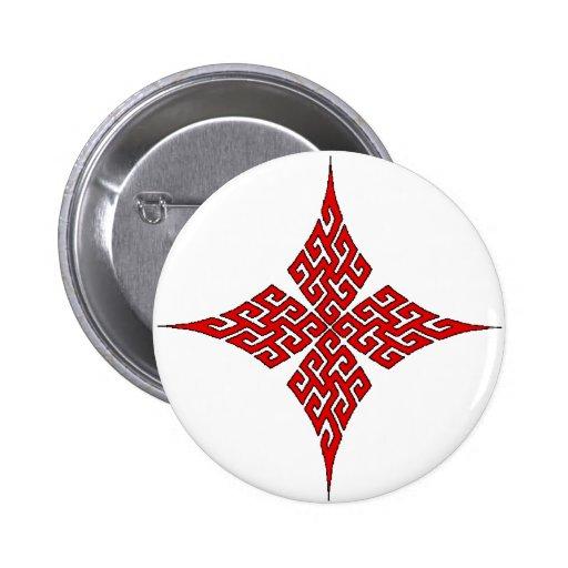 Croix celtique 5 badges
