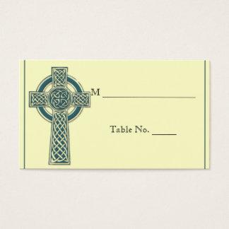 Croix celtique dans les cartes enes ivoire