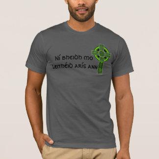 Croix celtique irlandaise d'Ann d'arís de leithéid T-shirt
