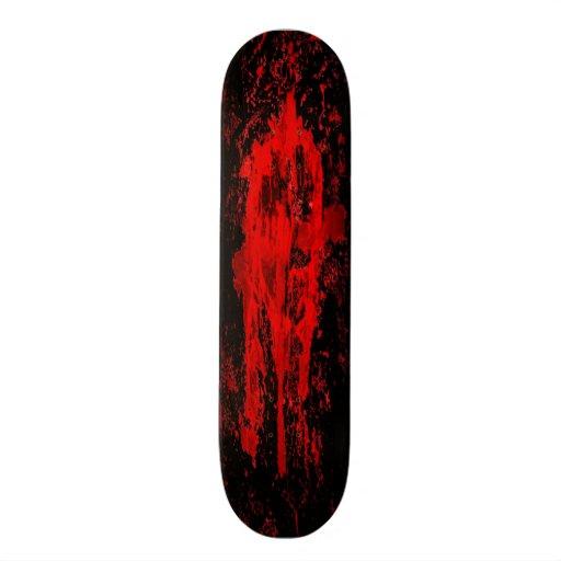 Croix celtique païenne gothique sanglante plateaux de skate