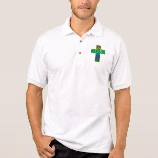 Croix celtique rougeoyante t-shirt