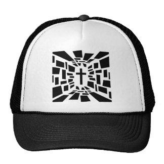 Croix chrétienne casquette