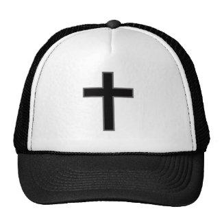 Croix chrétienne casquette trucker