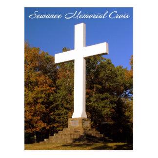 Croix commémorative de Sewanee, carte postale de