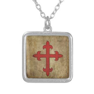 Croix de croisé collier