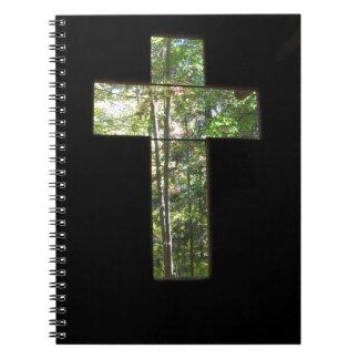 Croix de fenêtre carnets à spirale