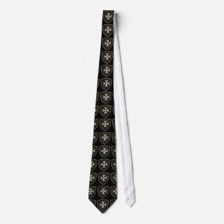 Croix de Hospitaller de chevaliers, affligée Cravates