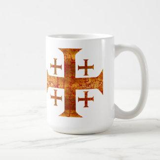 Croix de Jérusalem, affligée Mug