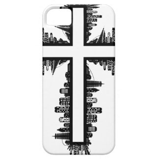 Croix de paysage urbain coque Case-Mate iPhone 5