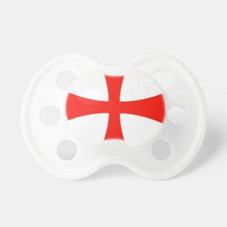 Croix de Templar de chevaliers Sucette Pour Bébé