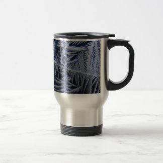 croix d'étoile de glace mug de voyage