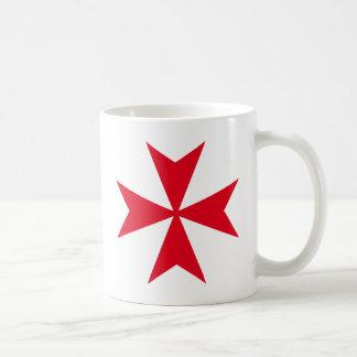 croix maltaise mug