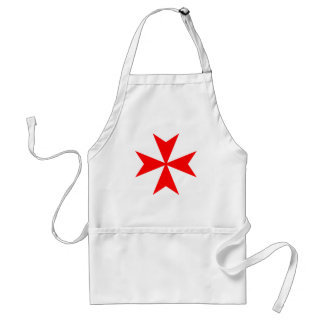 Croix maltaise tablier