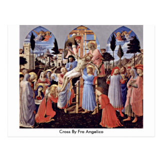 Croix par ATF Angelico Carte Postale