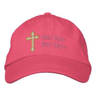 Croix - personnaliser casquette brodée