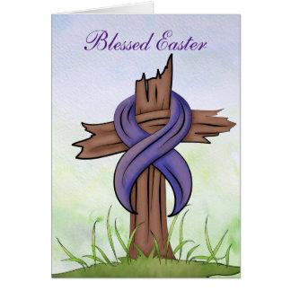 Croix religieuse cartes de vœux