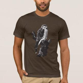 Croquis américain de crécerelle t-shirt