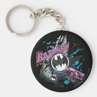 Croquis d horizon de Batman Gotham Porte-clé