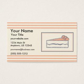 Croquis de boulangerie cartes de visite