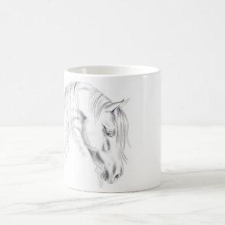 Croquis de cheval mug
