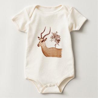 Croquis de dessin d'antilope d'impala body