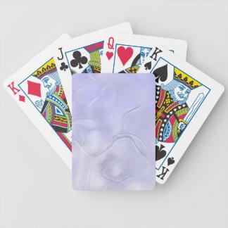 Croquis de fleur de deux tulipes dans le bleu jeu de poker