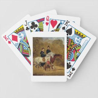 Croquis de la Reine Victoria, prince époux et HRH Cartes À Jouer
