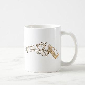 Croquis de magnum du python 357 de colt mug
