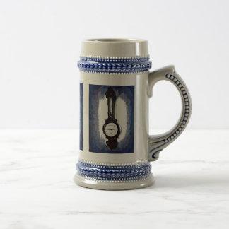 Croquis de mise au point antique d'art de bruit de chope à bière