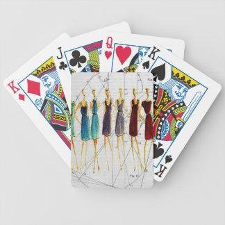 Croquis de mode jeu de poker