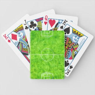 Croquis de terrain de football jeu de poker