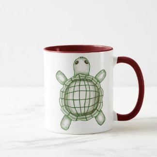 Croquis de tortue mug