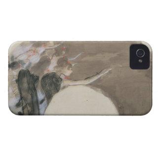 Croquis d'Edgar Degas | pour une fan, c.1879 Coques Case-Mate iPhone 4